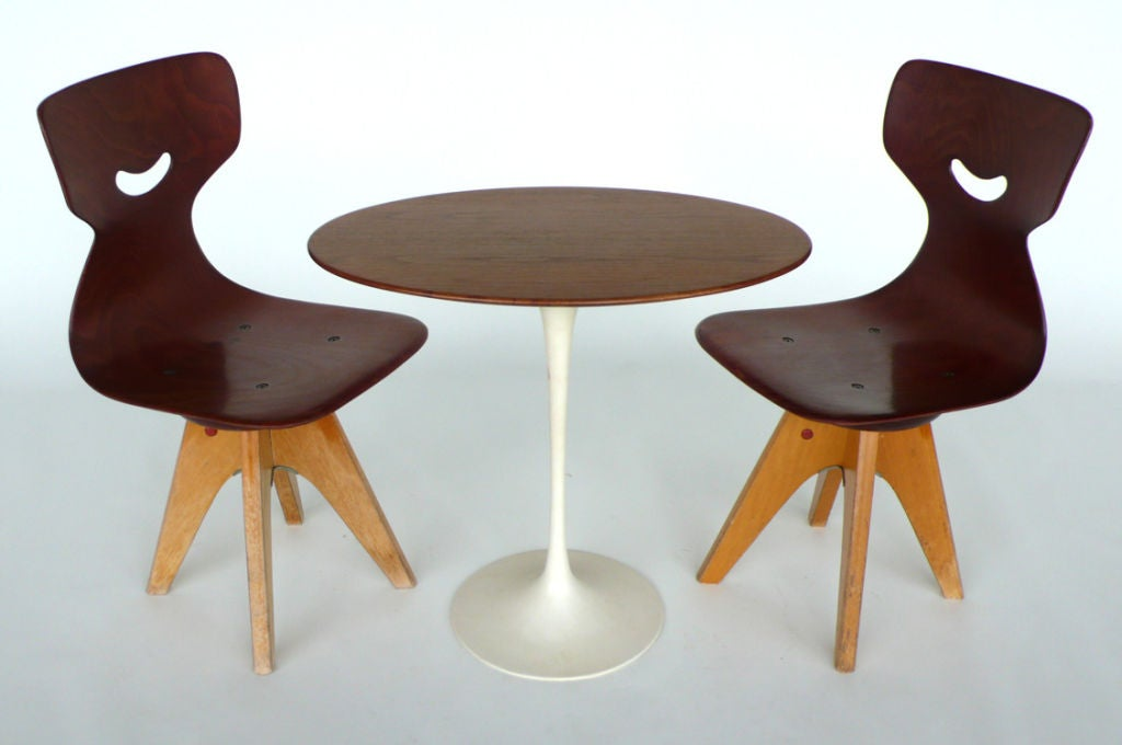 Pair of  Modernist Bentwood Adam Stegner Children's Chairs Pagho image 5