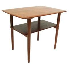 Povl Dinesen Danish Modern Teakwood Side Table