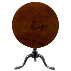 19th century Large mahogany occasional table