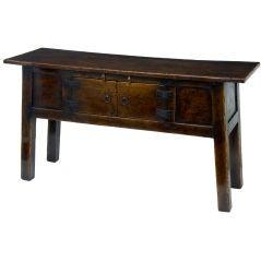English country oak dresser