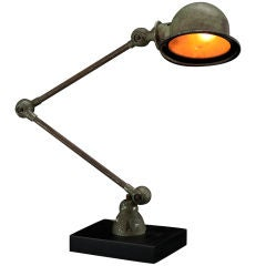 Industrial Desk Lamp with New Steel Base