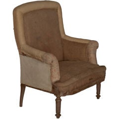 Oversized Club Chair with Rolled Arms