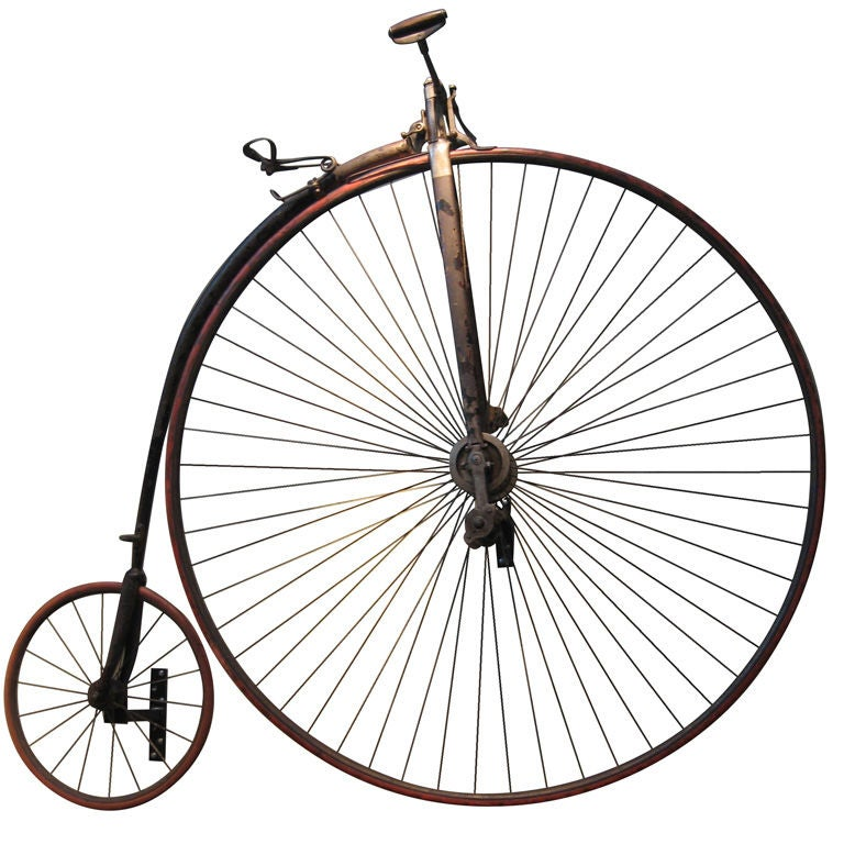High Wheel Penny-farthing Bicycle