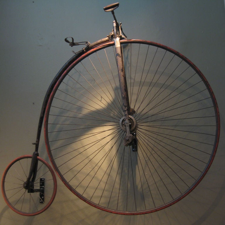 Metal High Wheel Penny-farthing Bicycle For Sale