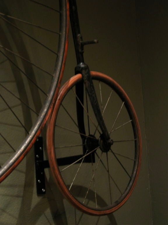 19th Century High Wheel Penny-farthing Bicycle For Sale
