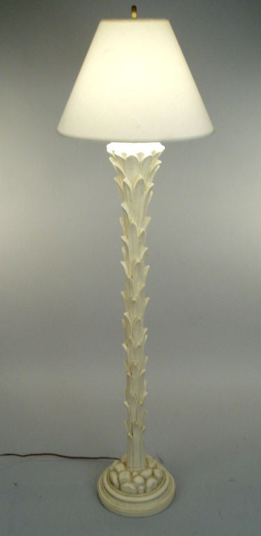 Vintage Palm Floor Lamp By Chapman At 1stdibs