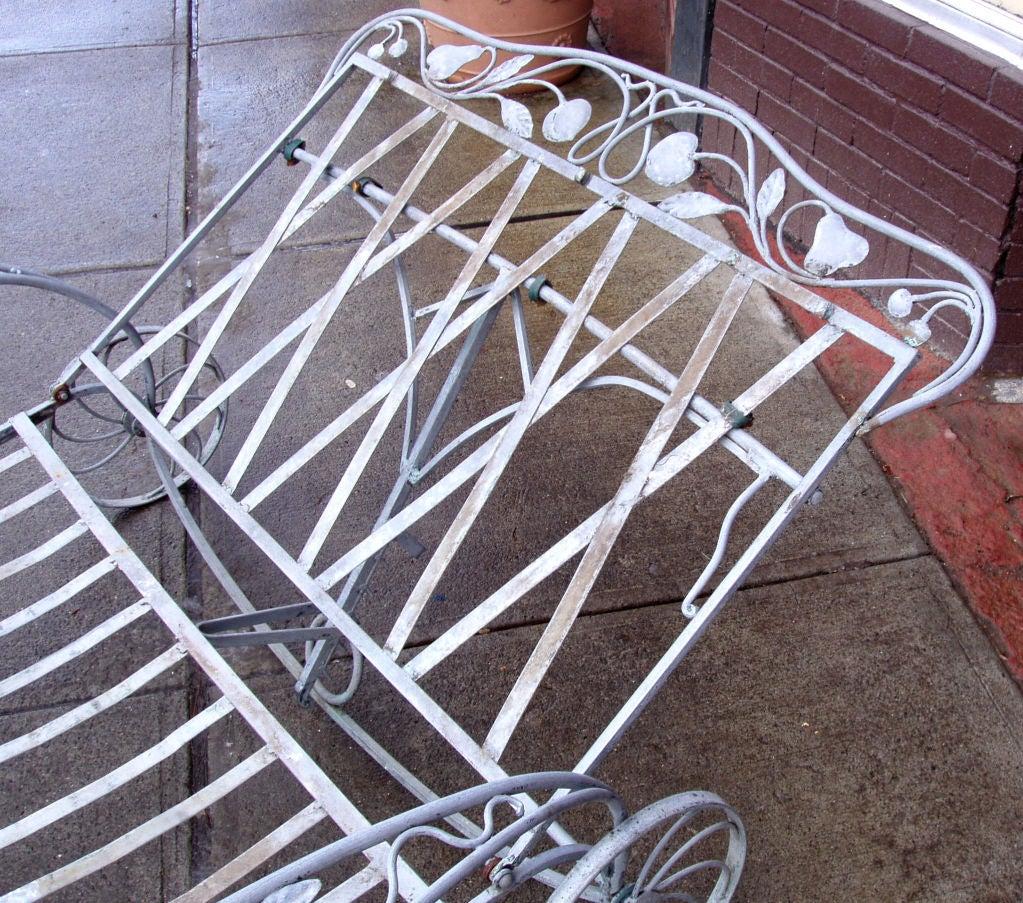 Vintage Salterini double Chaise Lounge image 6