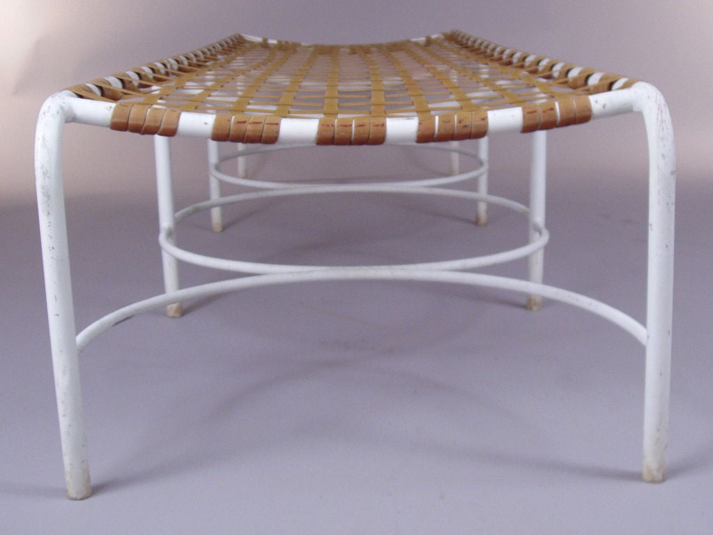 Pair of vintage brown jordan chaise lounges at 1stdibs for Brown and jordan chaise lounge