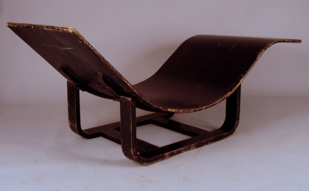 Vintage bentwood adjustable chaise lounge at 1stdibs for Chaise bentwood