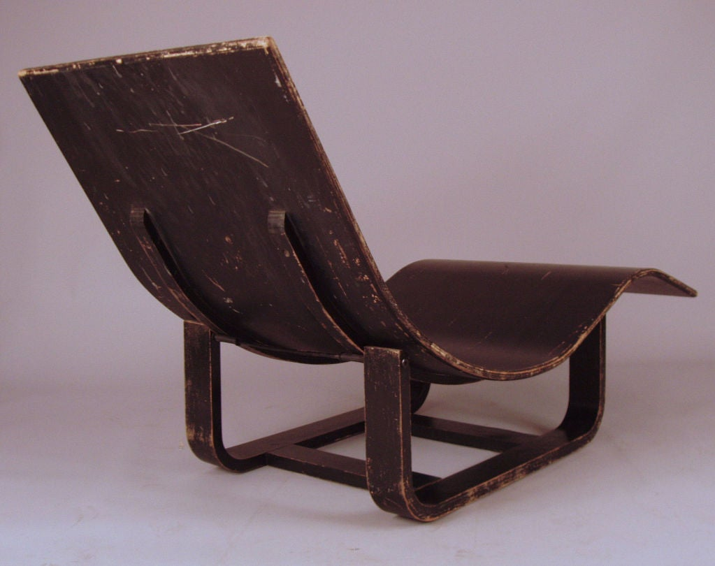 Vintage bentwood adjustable chaise lounge at 1stdibs for Aalto chaise lounge