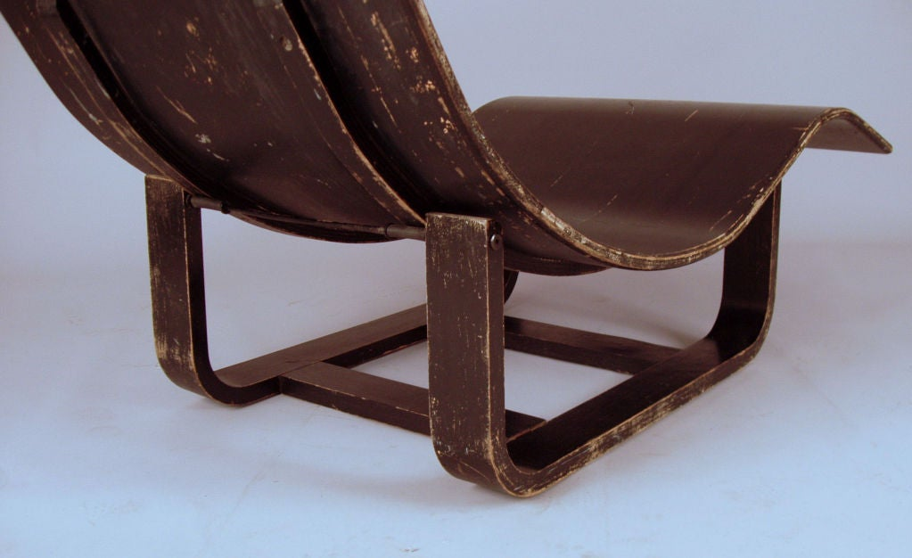 Vintage bentwood adjustable chaise lounge at 1stdibs for Antique chaise lounge furniture