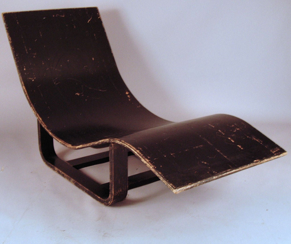 Vintage bentwood adjustable chaise lounge at 1stdibs for Antique chaise longe
