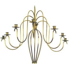 Classic and Elegant Brass Wall Sconce