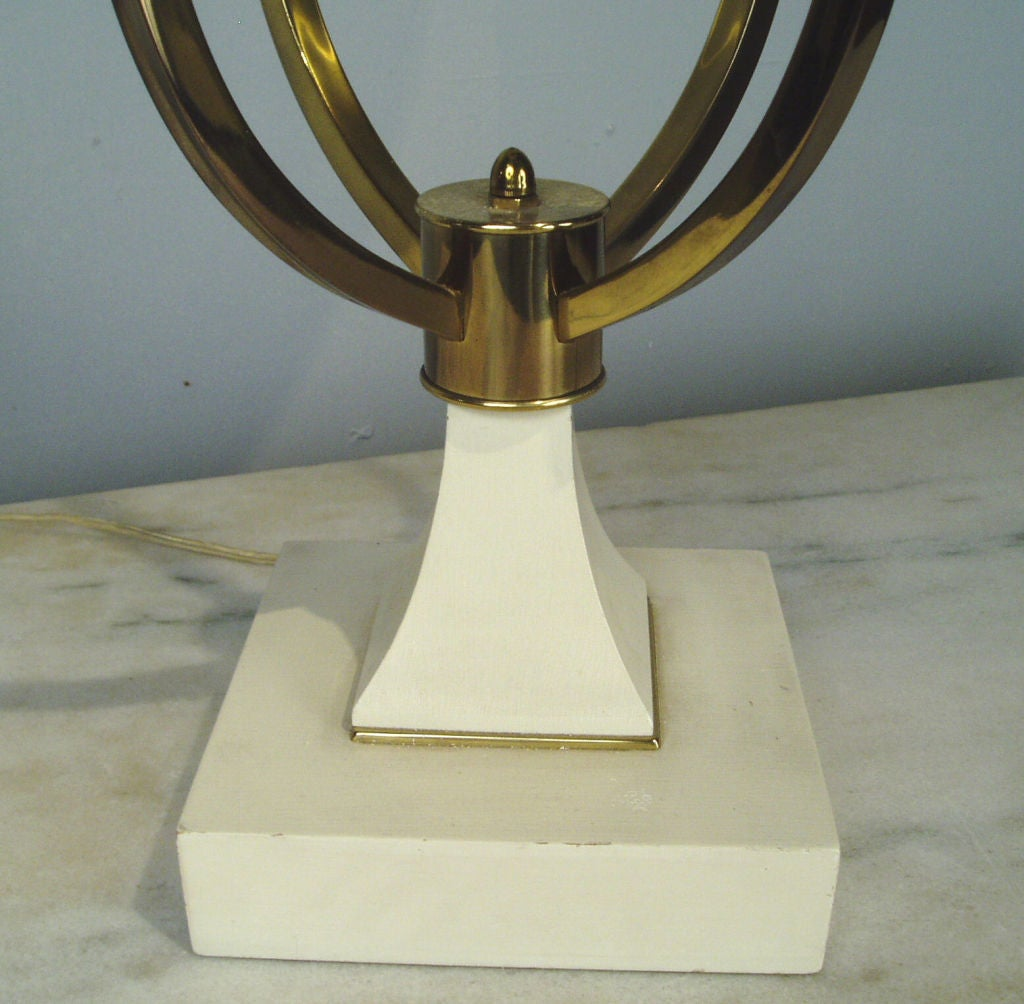 American Stunning 1960's Brass Lamp For Sale