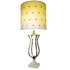 Stunning 1960's Brass Lamp