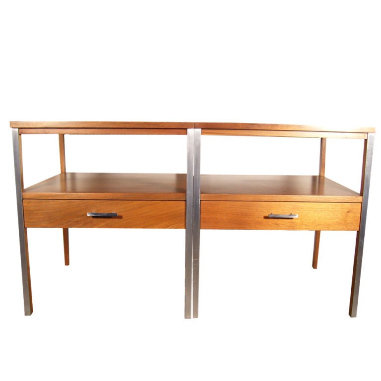 Paul McCobb for Calvin Nightstands/End Tables at 1stdibs