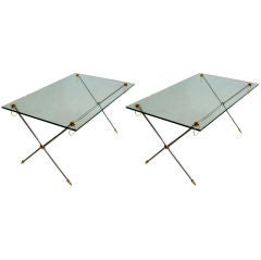 Pair of Coffee Tables Adnet