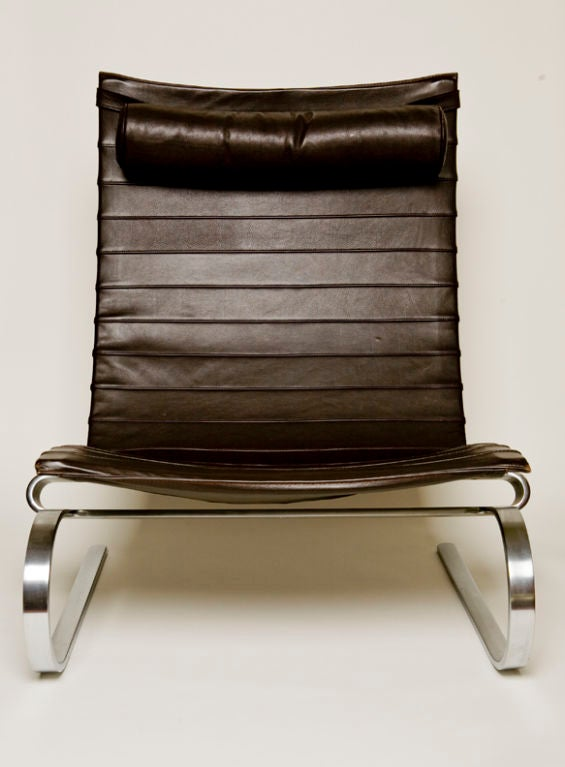 Poul Kjaerholm Pk 20 Easy Chair At 1stdibs