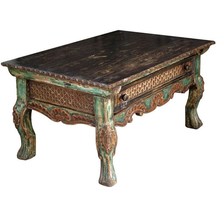 Spanish Colonial Side Table For Sale At 1stdibs