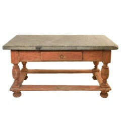 Baroque Stone Top Table