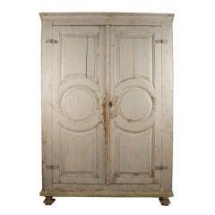 Swedish Rococo Cabinet