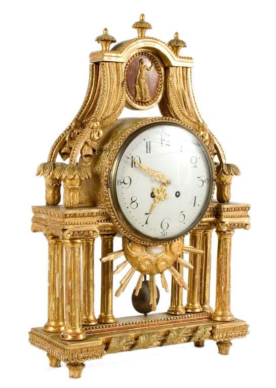 Gustavian Table Clock 2