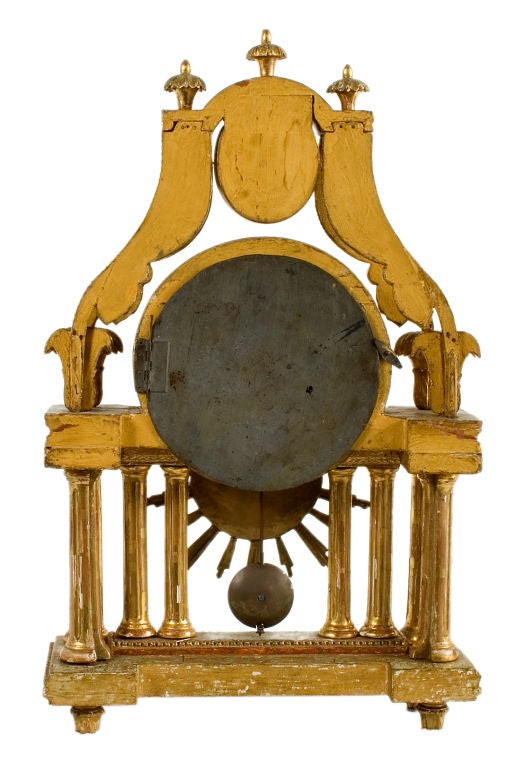 Gustavian Table Clock 3
