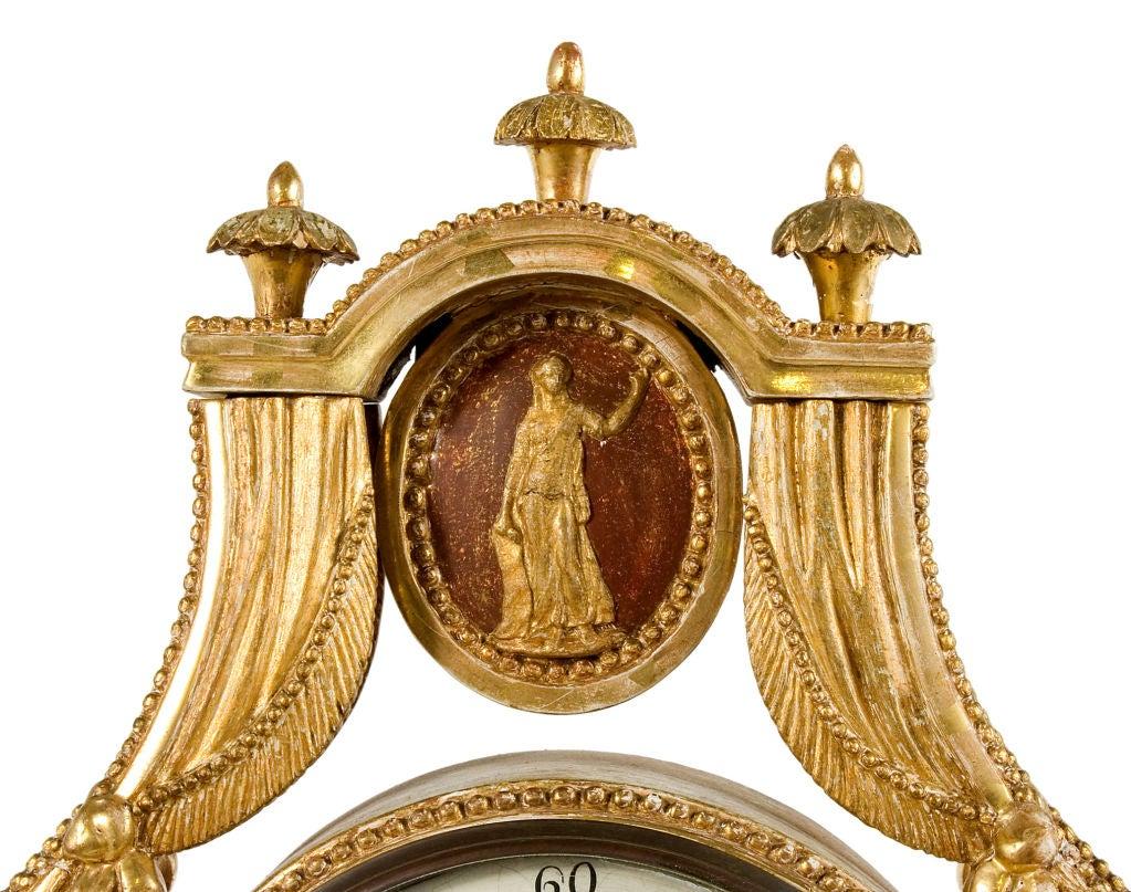 Gustavian Table Clock 5