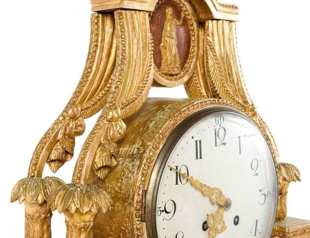 Gustavian Table Clock 7