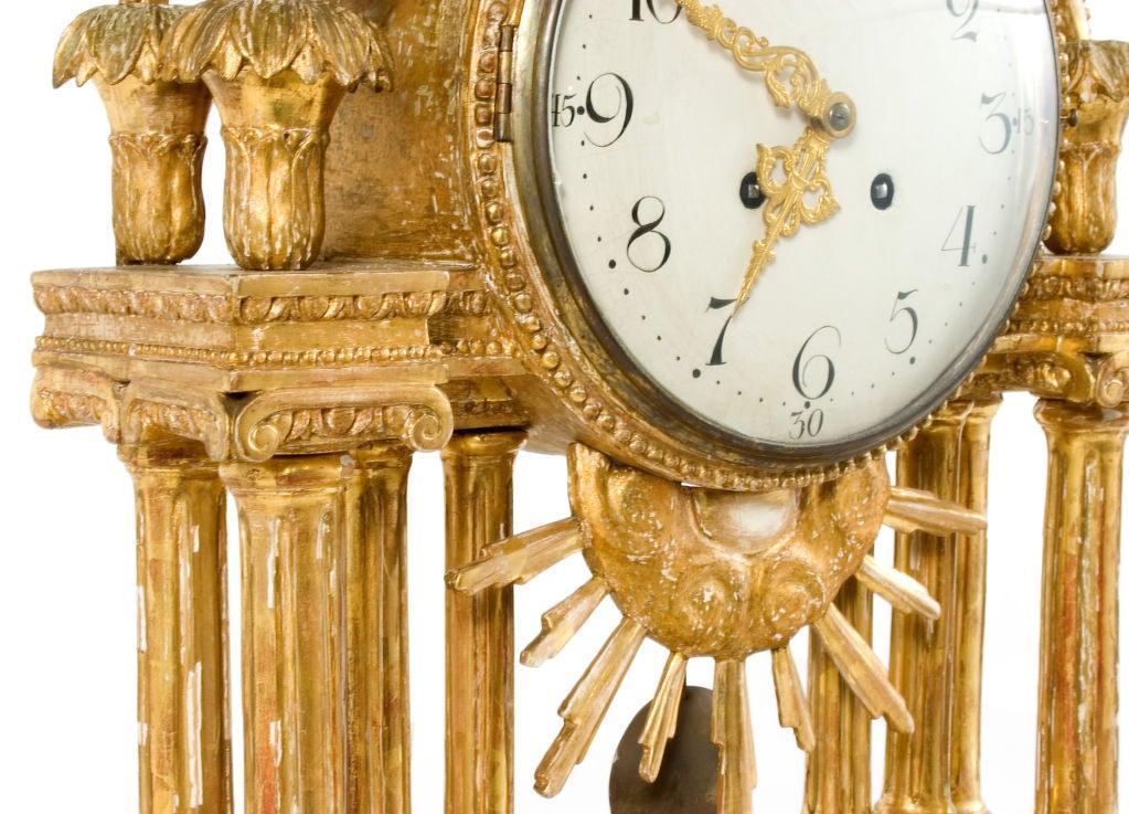 Gustavian Table Clock 8