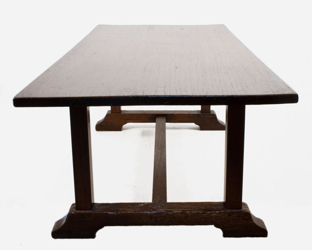 Spanish Colonial Dining Table at 1stdibs
