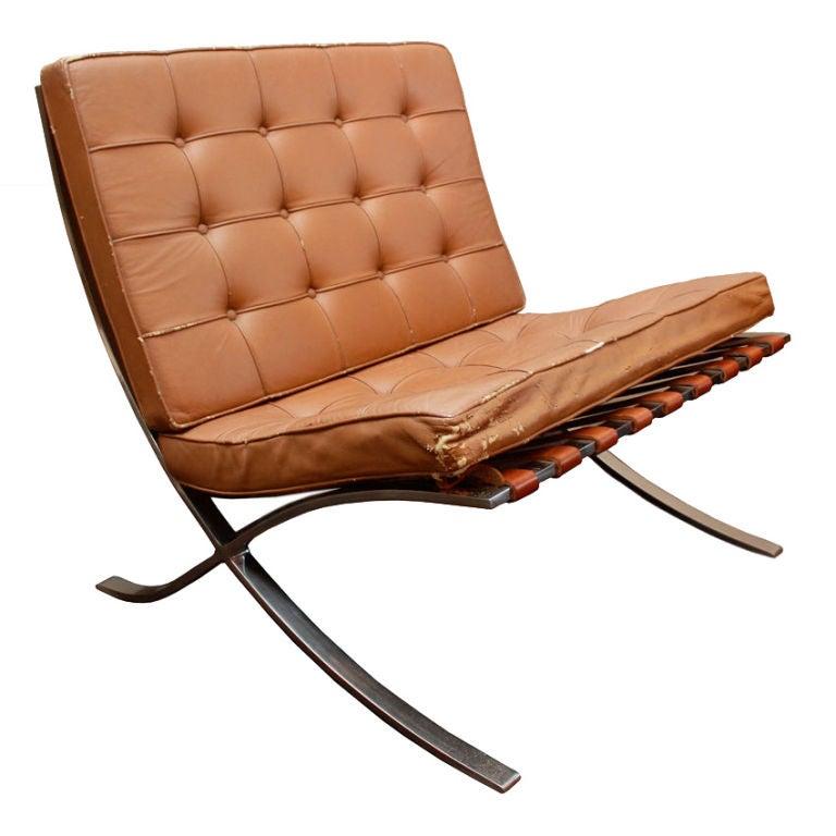 Vintage Barcelona Chair 1940 For Sale  sc 1 st  1stDibs & Vintage Barcelona Chair 1940 at 1stdibs