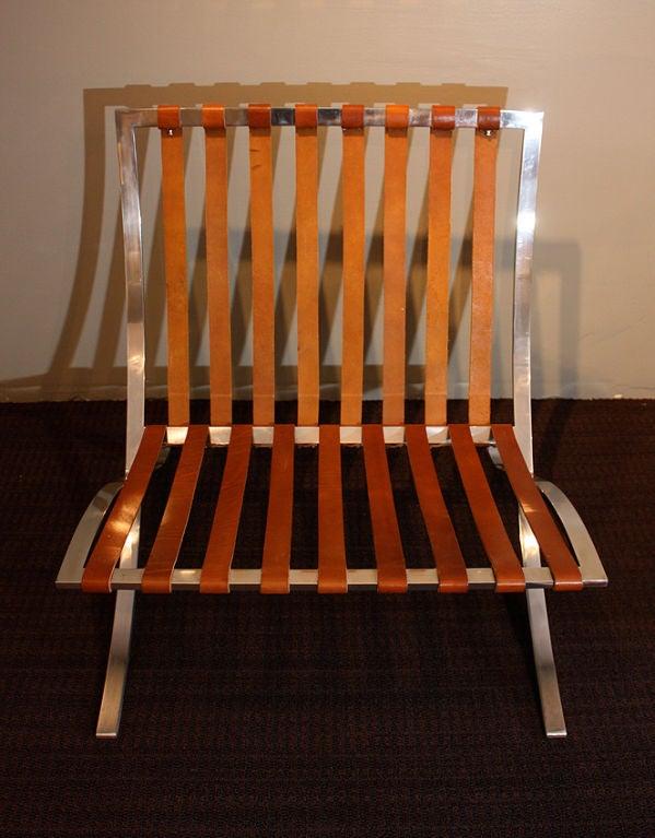 vintage barcelona chair 1940 at 1stdibs. Black Bedroom Furniture Sets. Home Design Ideas
