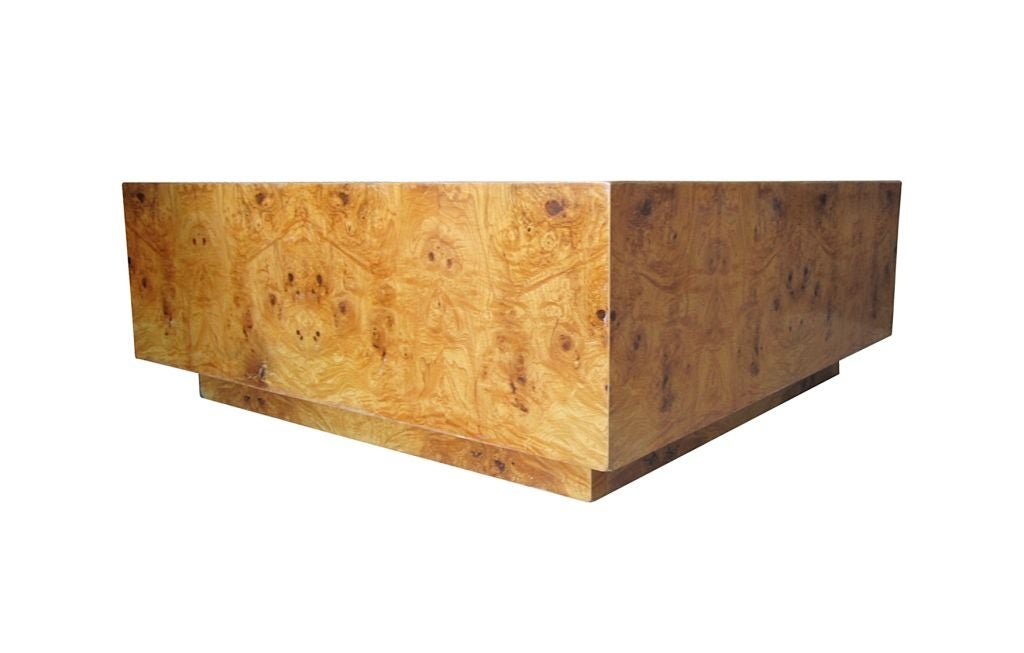Baughman Burl Wood Coffee Table