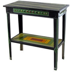 Bejeweled Metal Stand