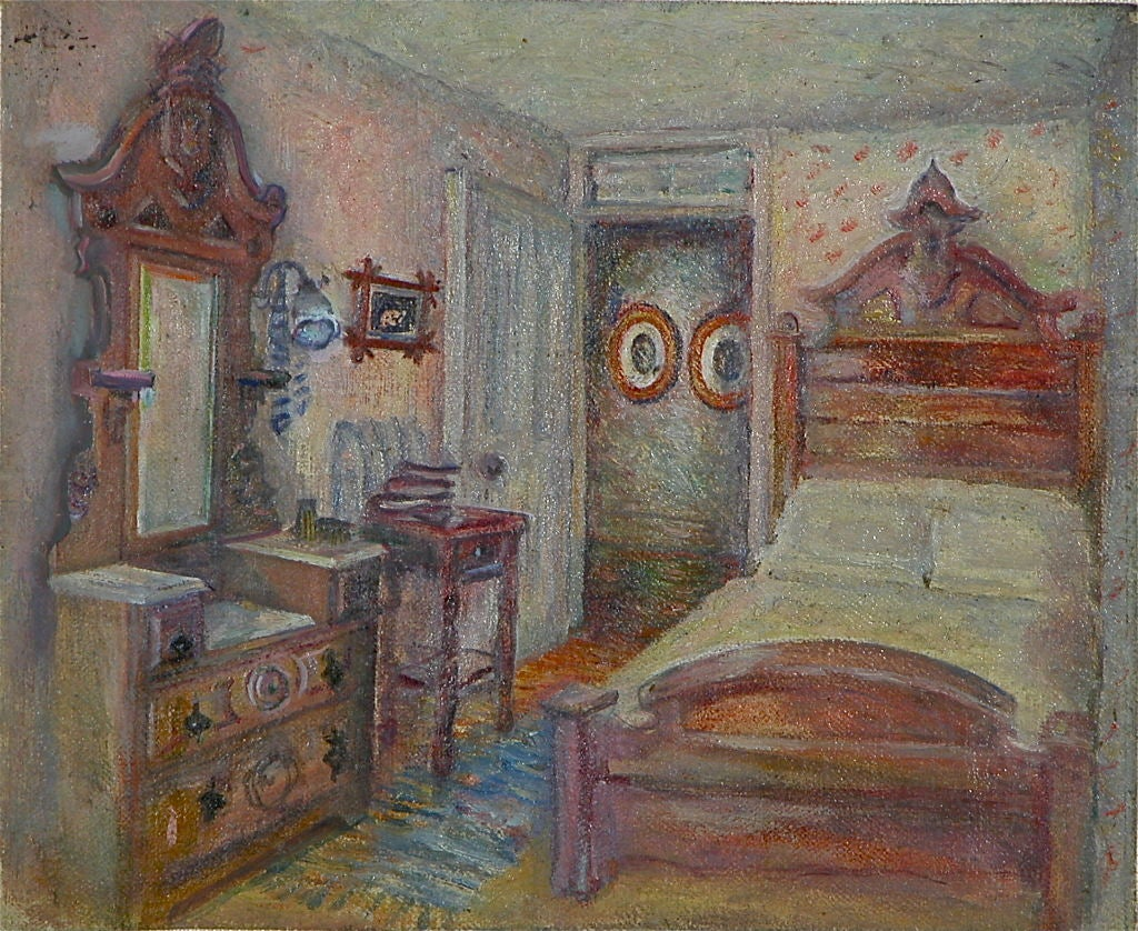 Portraits of spirited interiors whose occupants appear as apparitions within it's furnishings.