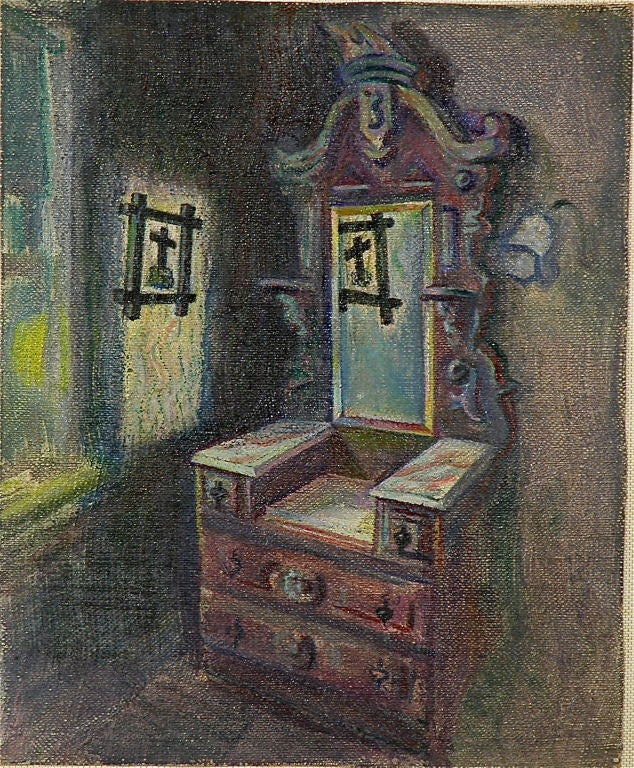 American Portraits of Haunted Rooms For Sale