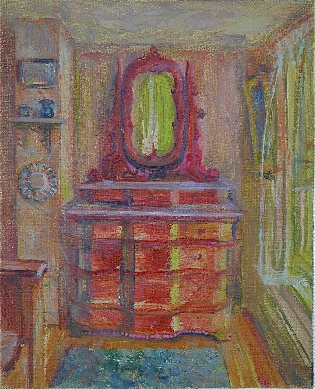 Oil Portraits of Haunted Rooms For Sale