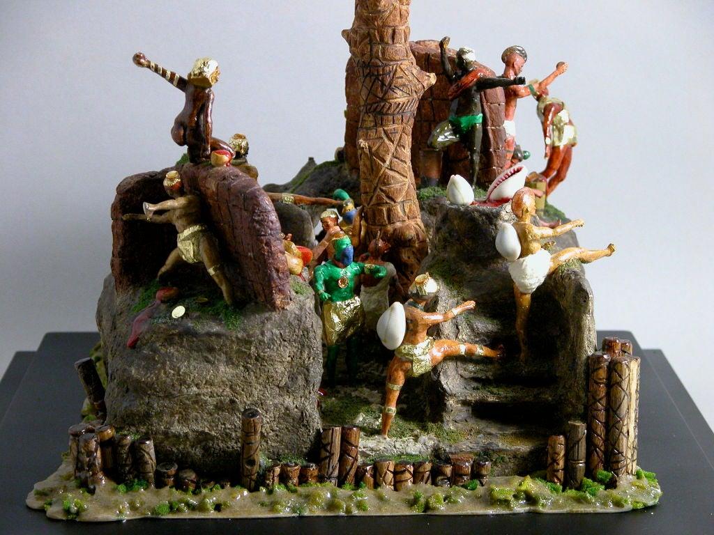 20th Century Caribbean Island Fantasy For Sale