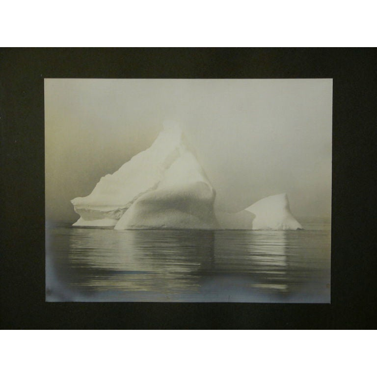 """""""The Tip of an Iceberg,"""" Painting 1"""