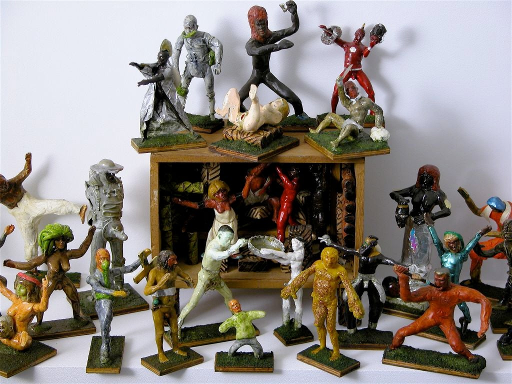 Action figures for sale at 1stdibs for Self garage strasbourg