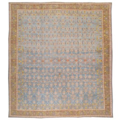 Antique Indian Cotton Agra Rug