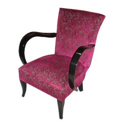Four French Art Deco Club Chairs