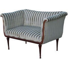 Early French Deco Settee