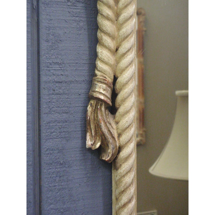 Carved Rope and Tassel Form Mirror 2