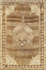 Antique American Hooked Rug At 1stdibs