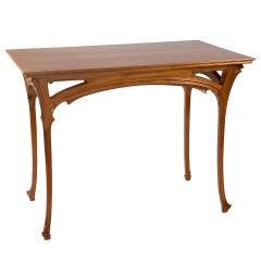 Henri Sauvage French Art Nouveau Table
