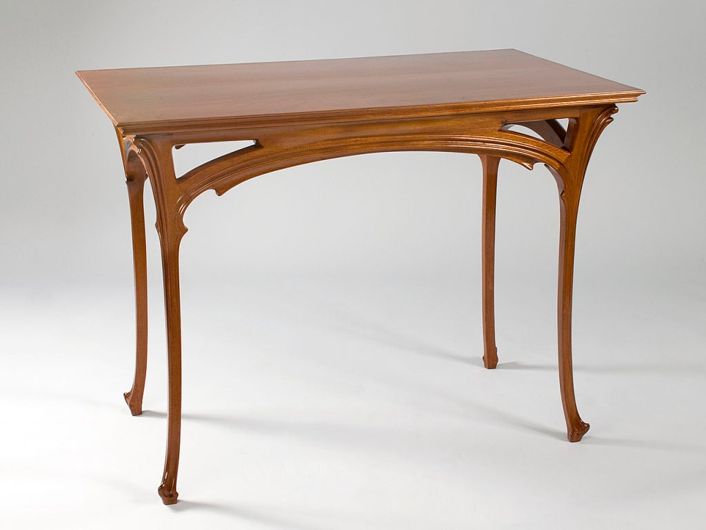 Henri Sauvage French Art Nouveau Table At 1stdibs