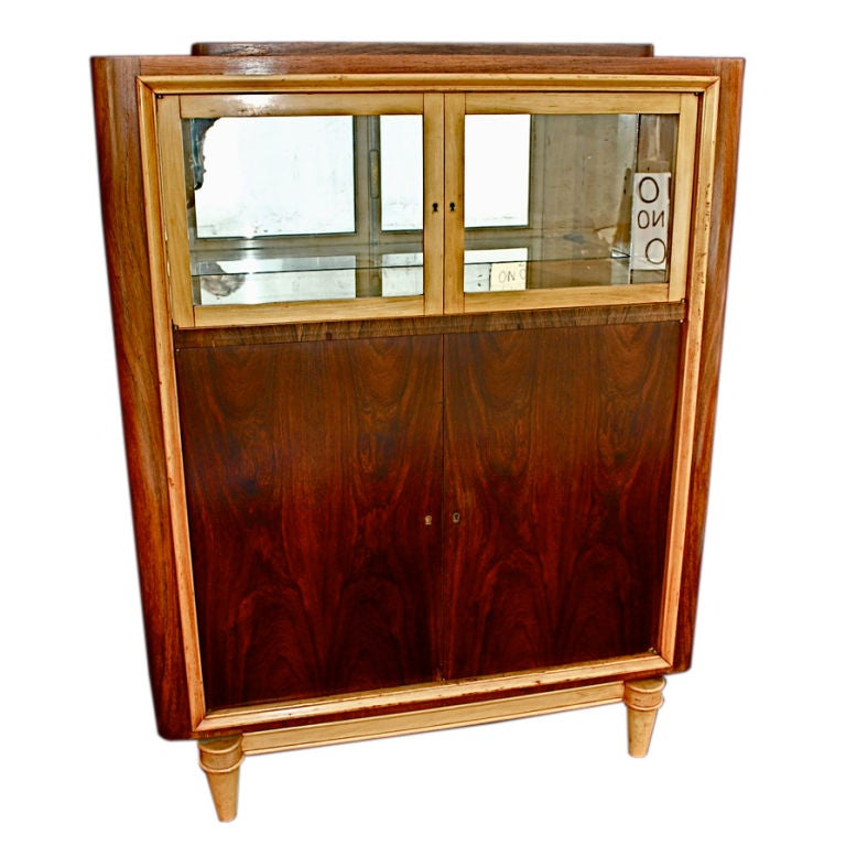 Superbe Antique French Art Deco Bar/Cabinet