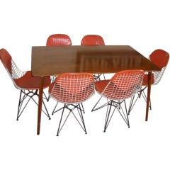 1950 Charles Eames dinning set